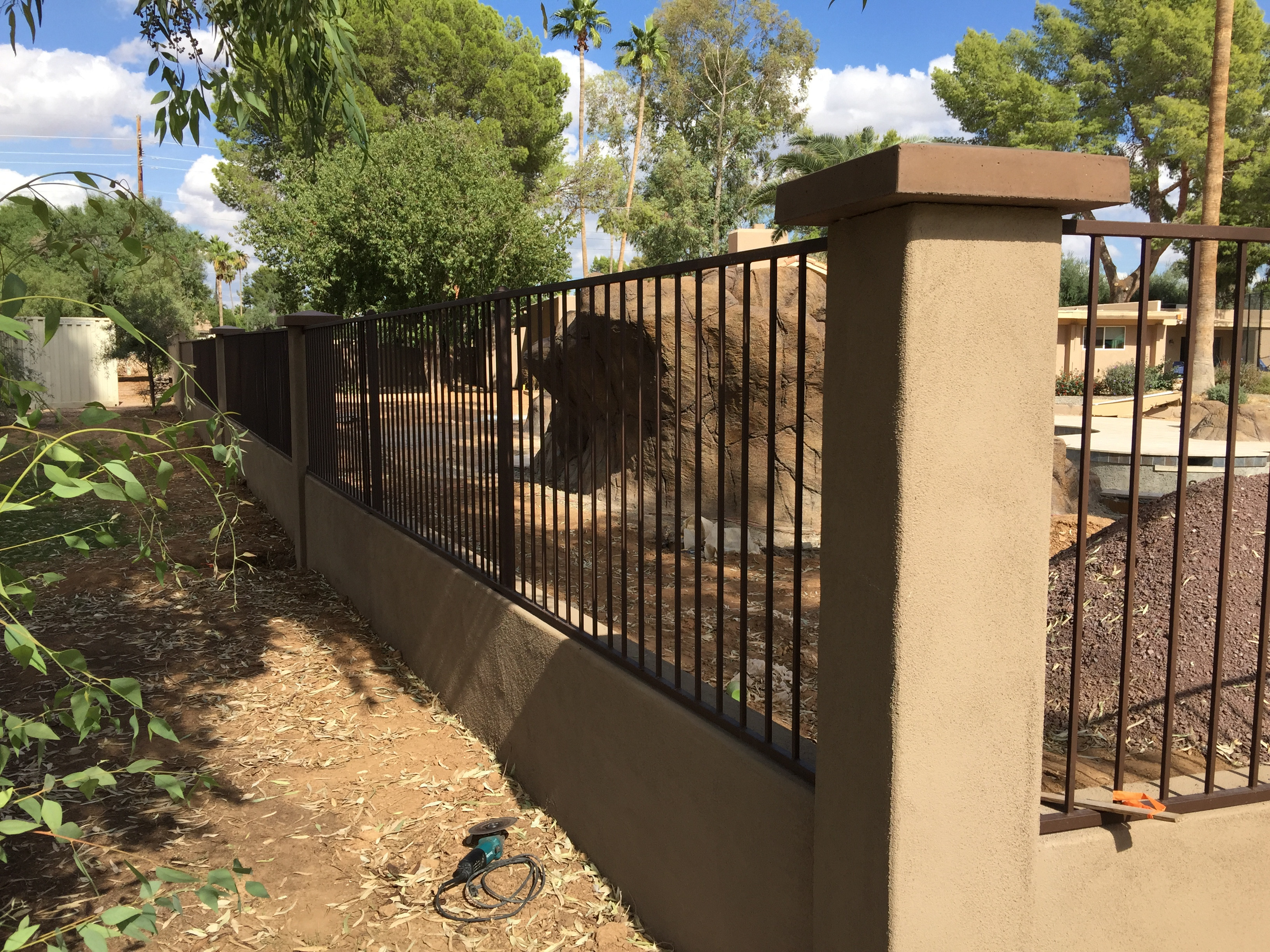 Paint Wall With Chain Link Fence Paint